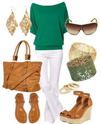 КАКОЙ-ЦВЕТ-сочетается-с-зеленым-в-одежде2