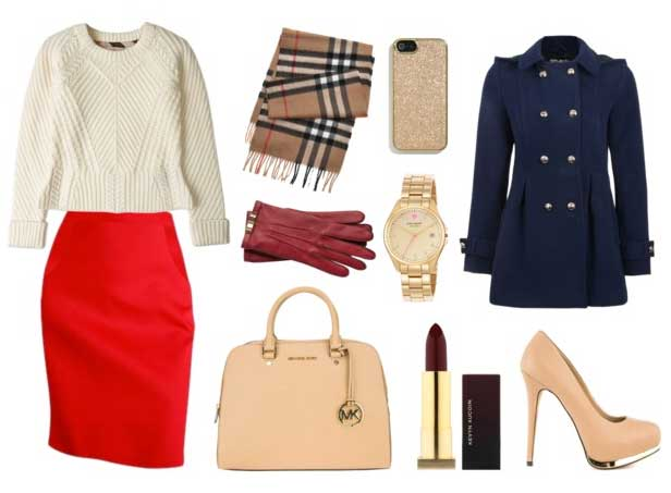 С-чем-носить-красную-юбку---карандаш