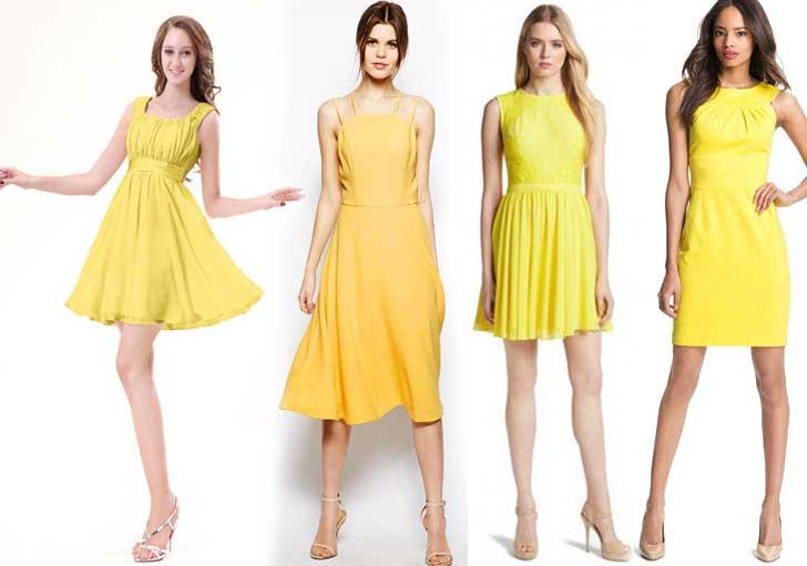 с-какой-обувью-носить-желтое-платье