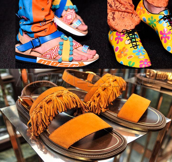 Модная мужская молодежная обувь весна - лето 2017