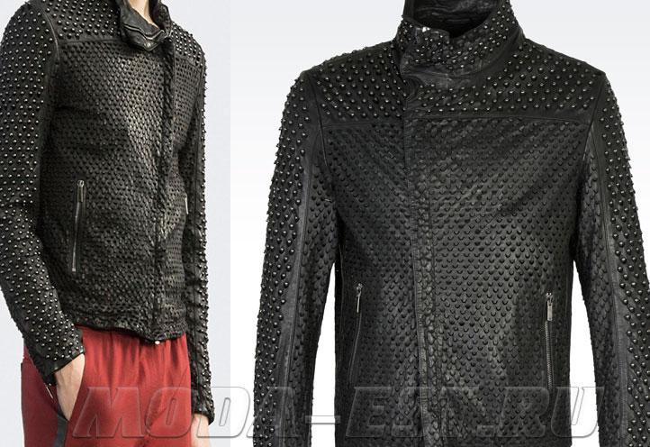 мужские кожаные куртки весна 2017